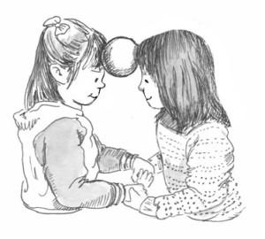 Girls balancing for Corwin blog