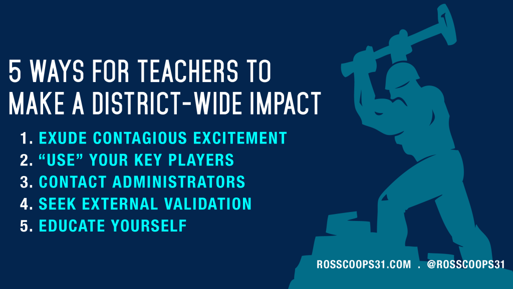5 Ways For Teachers to Make a District-Wide Impact - Corwin