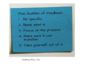 Five Qualities of Feedback_ Goldberg Readers